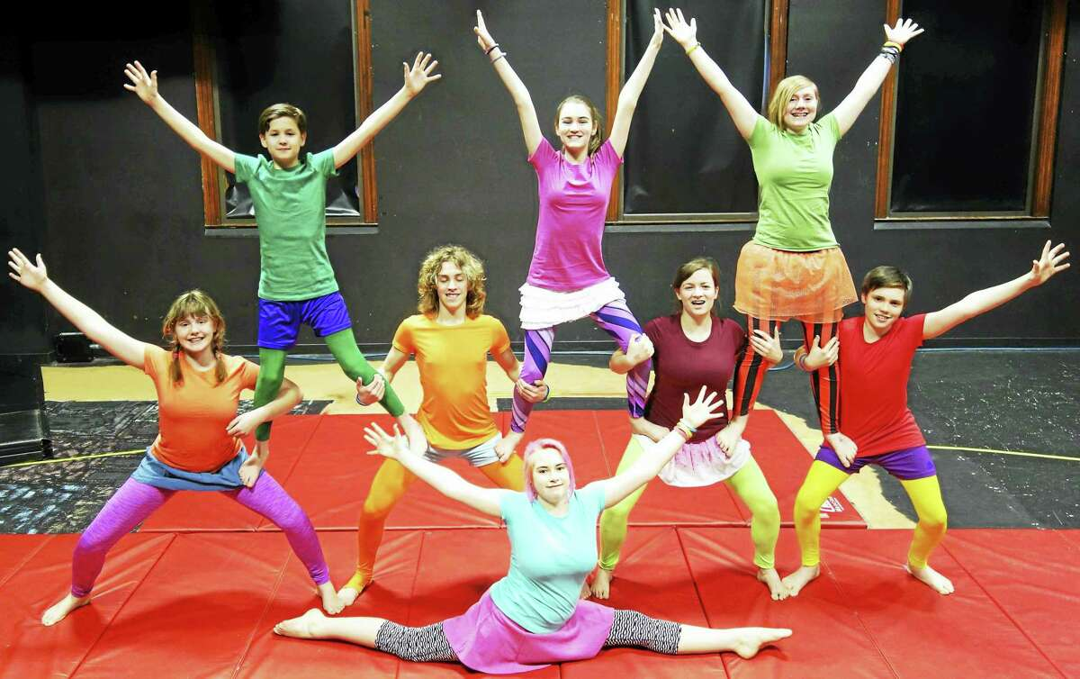 Contributed photos -Oddfellows PlayhouseOddfellows Playhouse Youth Theater and Circophony Youth Circus will present Circus of Joy: Finding Happiness in Who You Are, April 29-30.