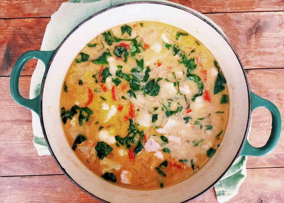 Thai green pork curry. Photo: Katie Workman Via AP  / Katie Workman