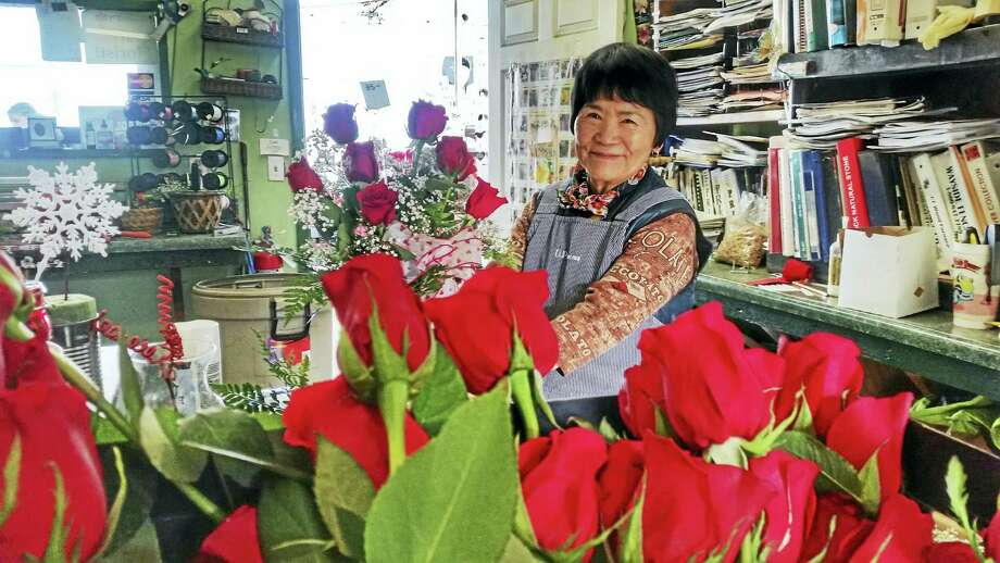 "Yukiko Field has worked at <a href=""www.unclebobsgarden.com"">Uncle Bob's at 191 Meriden Road</a> in Middlefield for 16 years. Photo: Kathleen Schassler — The Middletown Press"