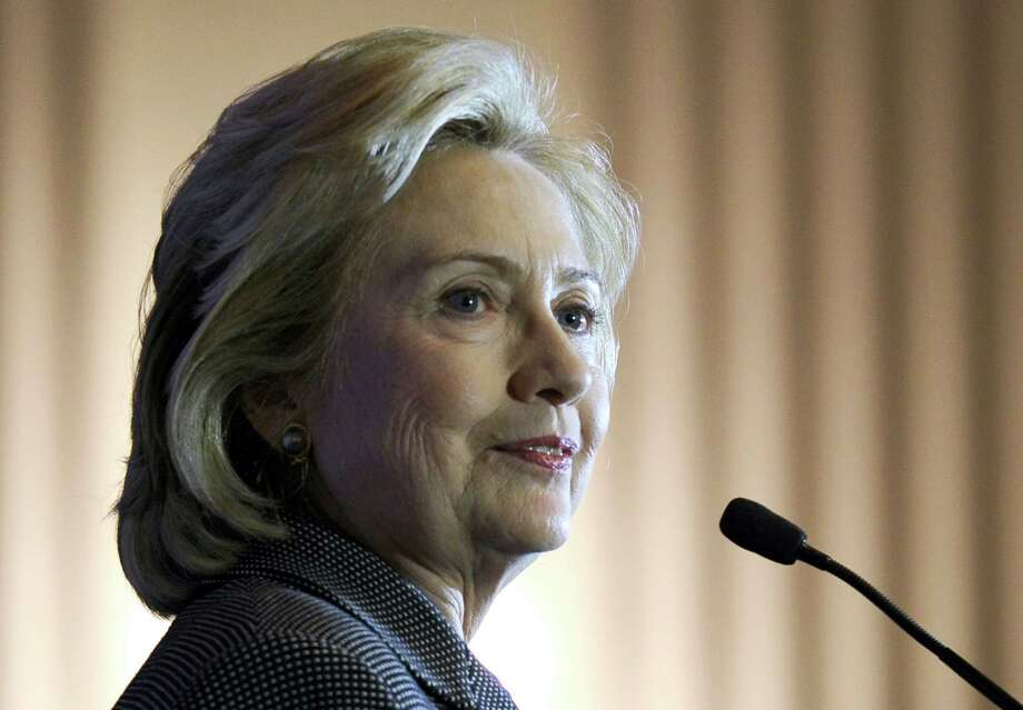 In this Dec. 6, 2013 photo, former Secretary of State Hillary Rodham Clinton speaks on Capitol Hill in Washington. Photo: AP Photo/Susan Walsh, File  / AP