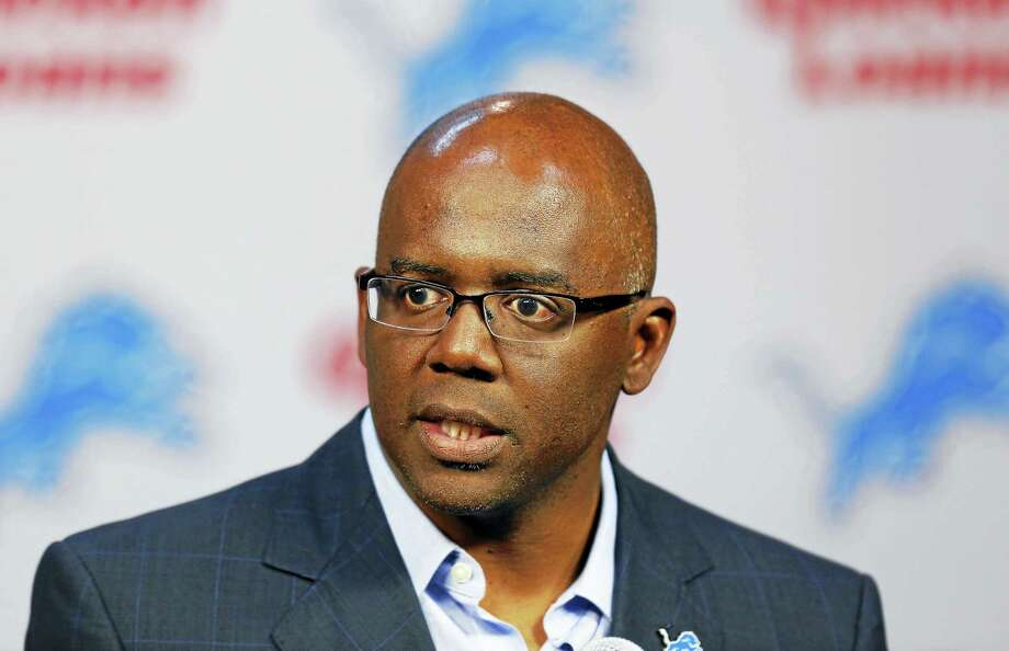 Former Detroit Lions general manager Martin Mayhew was hired by the Giants as their director of football operations/special projects. Photo: The Associated Press File Photo  / AP