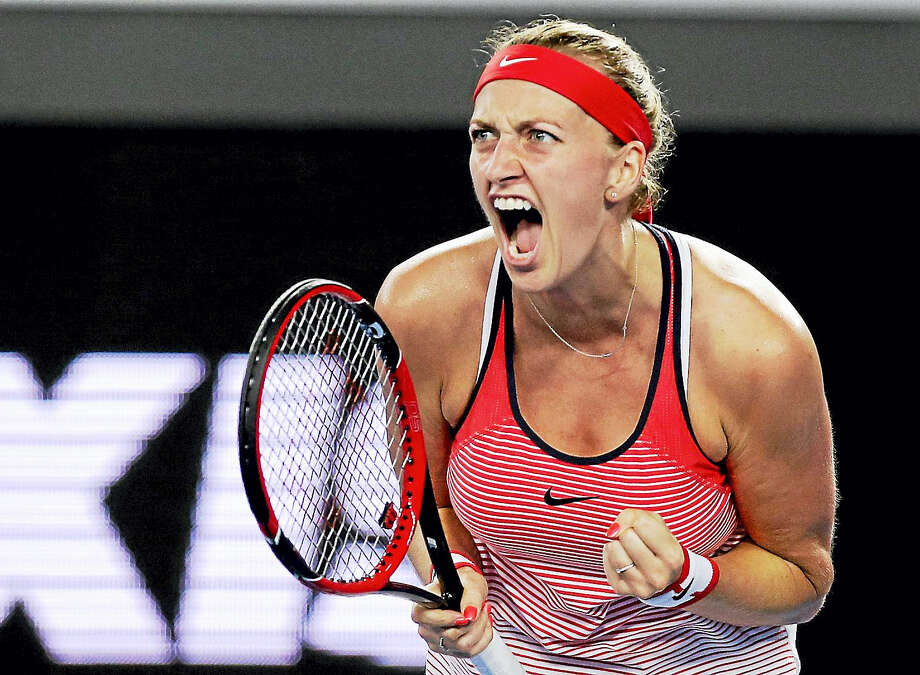 Petra Kvitova will be back to defend her Connecticut Open title in August. Photo: The Associated Press File Photo  / AP