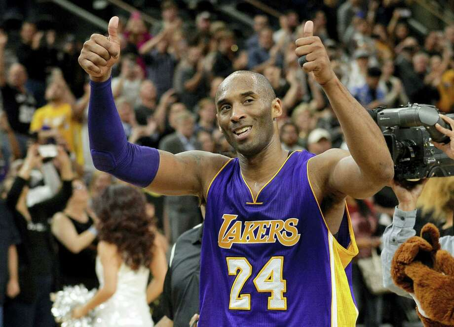 Lakers guard Kobe Bryant will be playing in his final All-Star game on Sunday. Photo: The Associated Press File Photo  / FR115 AP