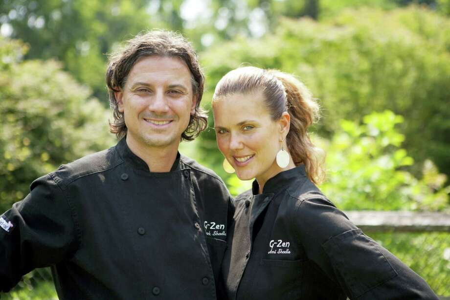 Chefs Mark Shadle and Ami Beach started G-Zen Restaurant, which features sustainable, plant-based cuisine, in October 2011. Photo: Photo Courtesy Of Jeff Skerik