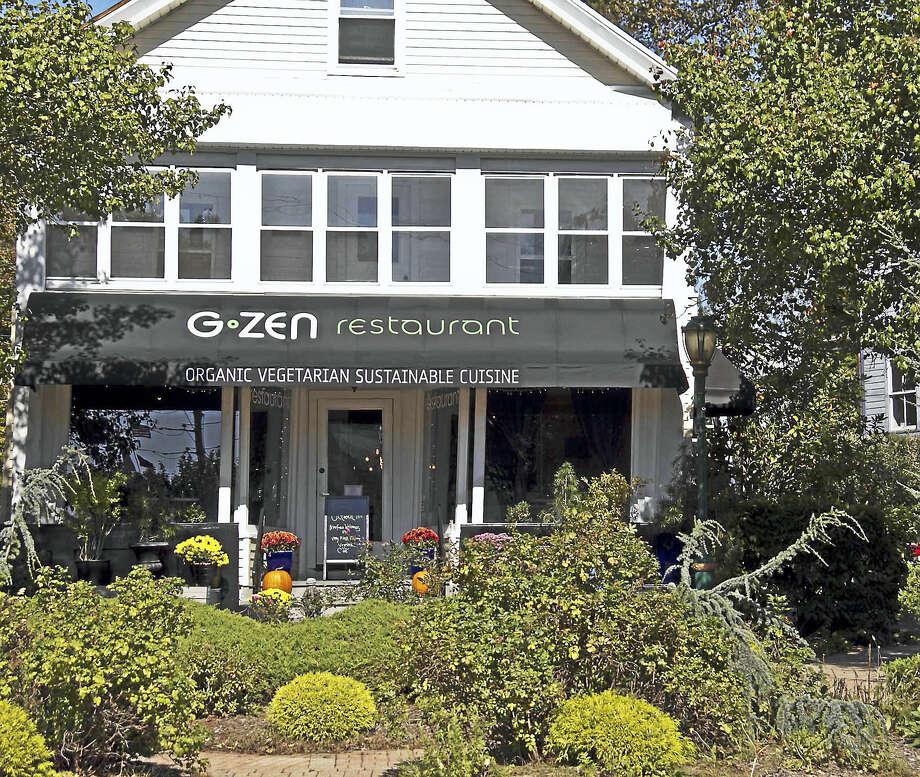 G-Zen Restaurant in Branford, is open Tuesday through Saturday. Photo: Photo Courtesy Of Jeff Skerik