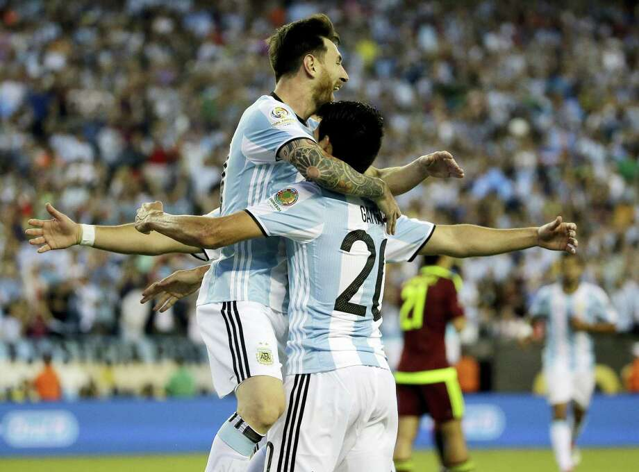 The U.S. will be up against Lionel Messi, left, and Argentina in the Copa America Centenario semifinals tonight. Photo: The Associated Press File Photo  / AP