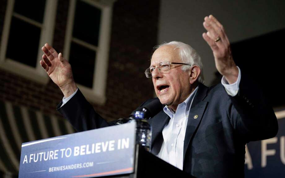 In this Jan. 27, 2016 photo, Democratic presidential candidate, Sen. Bernie Sanders, I-Vt, speaks during a campaign event at Music Man Square in Mason City, Iowa. Photo: AP Photo/Chris Carlson  / AP