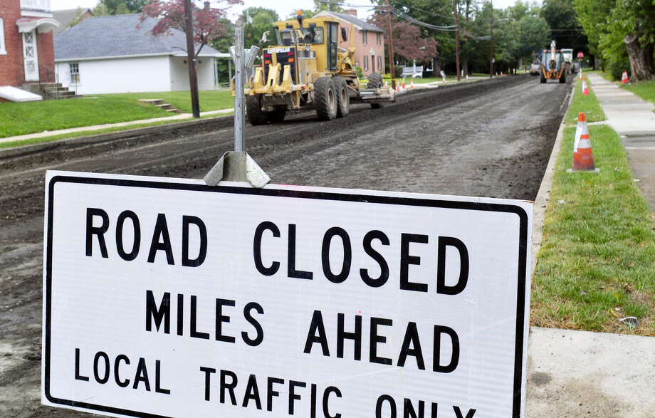 Middletown is among cities and towns given state aid for road repairs. Photo: File Photo  / PUBLIC_OPINION