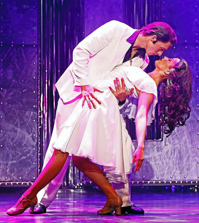 Photography by ©Erin O'Boyle PhotographicsSaturday Night Fever, the 70s disco love story, takes the Palace Theater stage later in February. Photo: Journal Register Co.