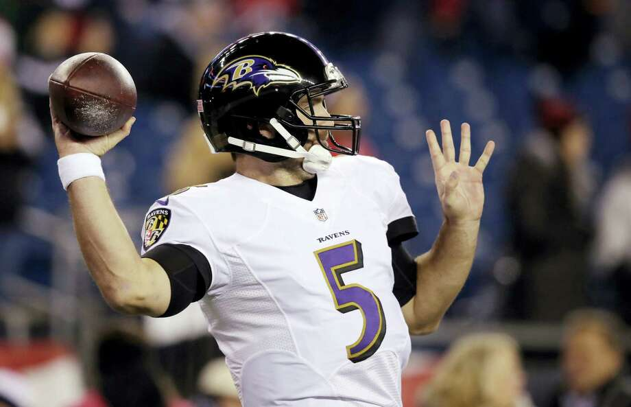 Quarterback Joe Flacco and the Ravens are 4-0 against the spread in their last four home games. Photo: Charles Krupa — The Associated Press   / Copyright 2016 The Associated Press. All rights reserved.