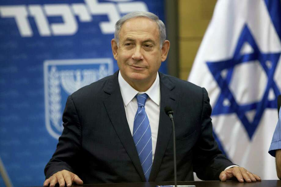 In this May 23, 2016 photo, Israeli Prime Minister Benjamin Netanyahu, looks on during a faction meeting at the Knesset, Israel's parliament in Jerusalem. Photo: AP Photo/Sebastian Scheiner  / Copyright 2016 The Associated Press. All rights reserved. This material may not be published, broadcast, rewritten or redistribu