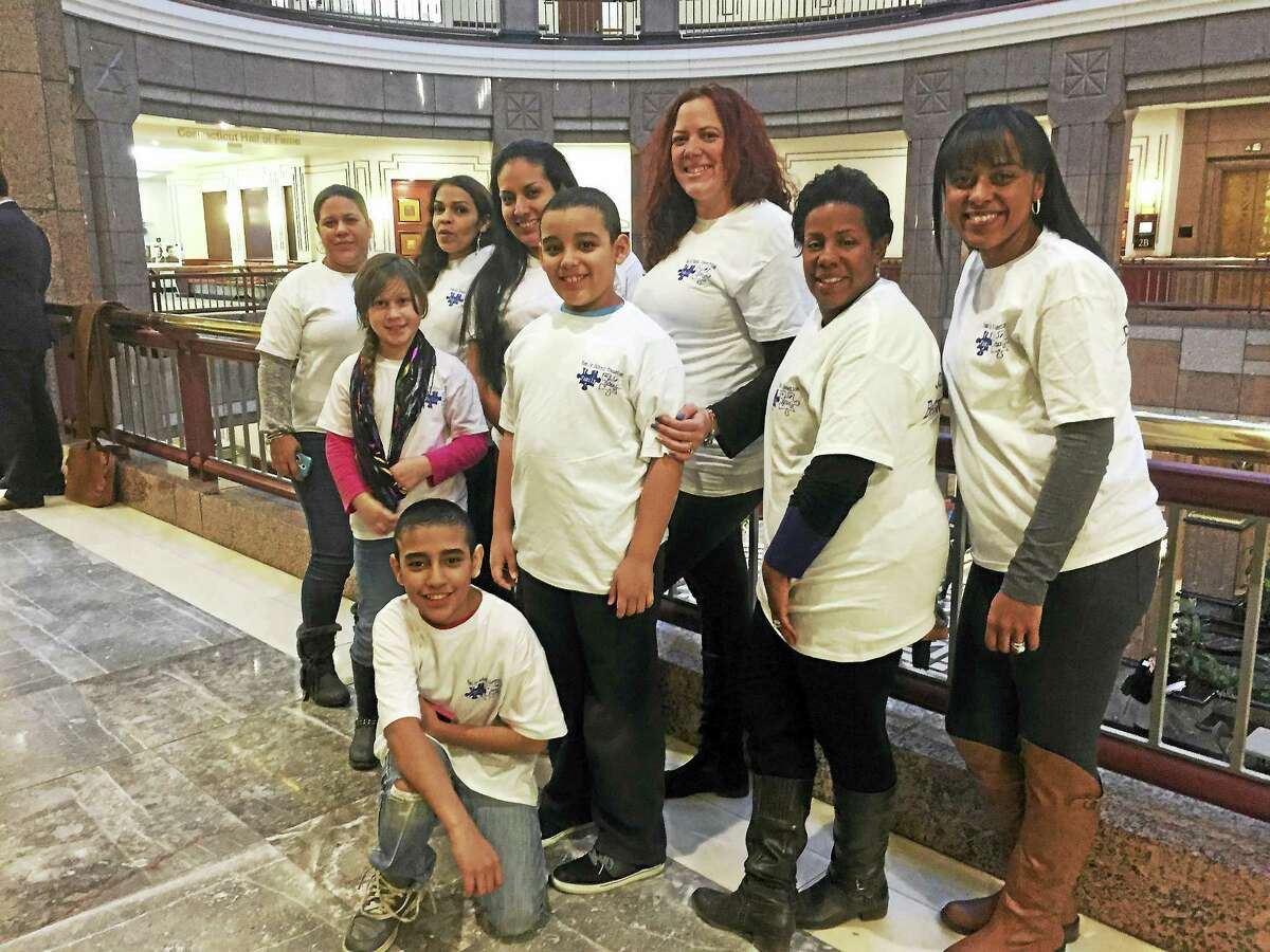 Members of Bielefield Elementary School's Family School Connection visited the State Capitol recently.