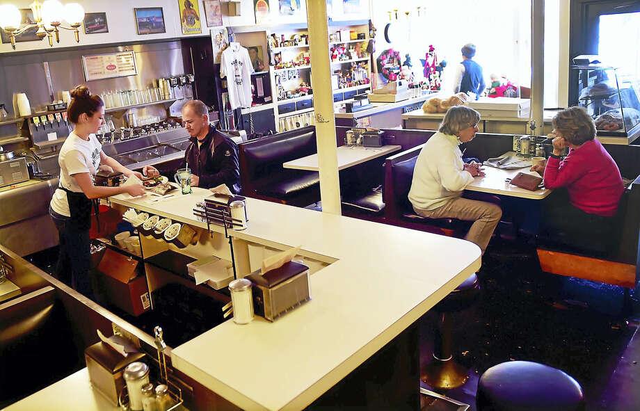 (Peter Hvizdak - New Haven Register)Madison Coffee Shop is closing the Madison Coffee Shop after 40-years.  Thursday, November 8, 2016 Photo: ©2016 Peter Hvizdak / ©2016 Peter Hvizdak