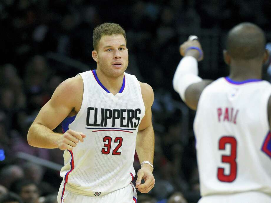 The Clippers suspended Blake Griffin four games without pay on Tuesday for punching a team staff member. Photo: The Associated Press File Photo  / AP