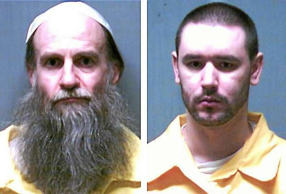 Death row inmates Steven Hayes, left, and Joshua Komisarjevsky. Photo: Connecticut Department Of Correction
