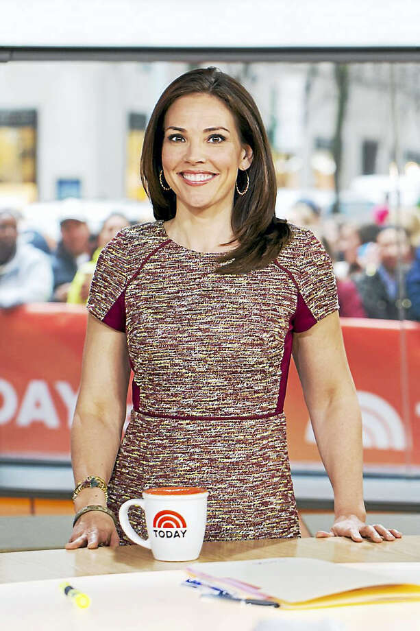 """Erica Hill of Clinton is co-anchor of """"Weekend Today"""" on NBC. Photo: Courtesy Photo"""