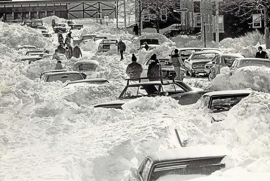 REGISTER FILE PHOTOThe Blizzard of 1978. Photo: AP / BOSTON GLOBE