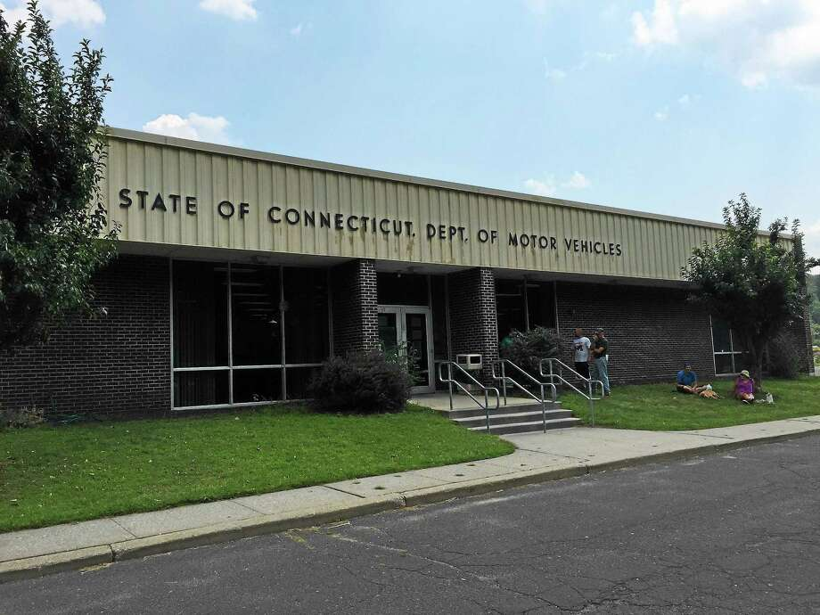 Outside the Winsted DMV office. Photo: FILE PHOTO