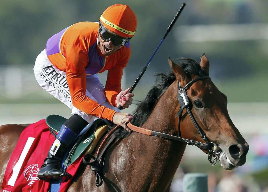 Jockey Garrett Gomez, who won nearly 4,000 races in a 25-year career and was among the greatest jockeys of the first decade of the 21st century, has died in southern Arizona. He was 44. Photo: The Associated Press File Photo  / AP2012