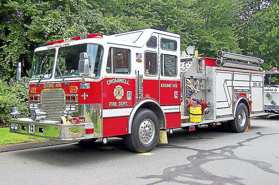 Cromwell fire Photo: Courtesy Photo