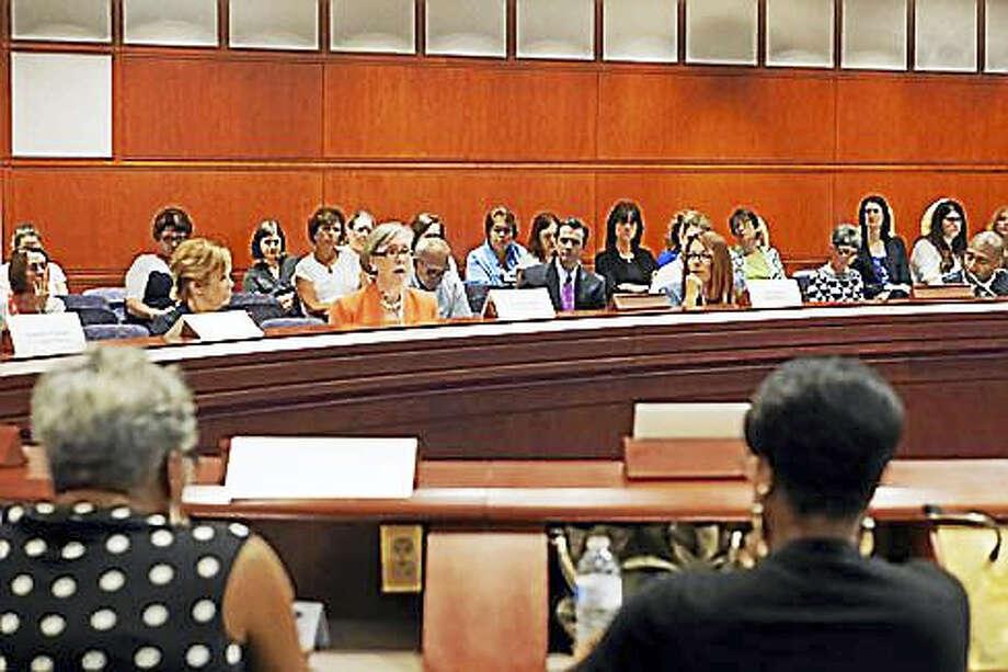 Home care providers decry Medicaid cuts. Photo: Kristi Allen Photo