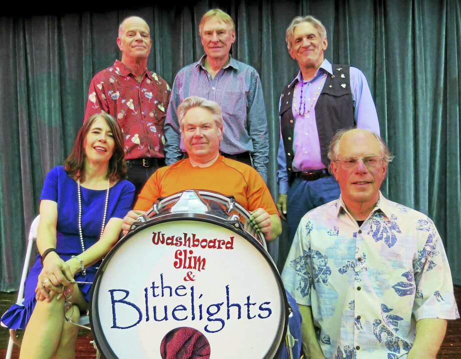 Hamden-based Washboard Slim & The Bluelights will be among the participants in the Connecticut Blues Challenge band competition, which will run the next four Thursdays at Black-Eyed Sally's in Hartford. Washboard Slim, a former winner, will compete on May 5. Photo: Contributed