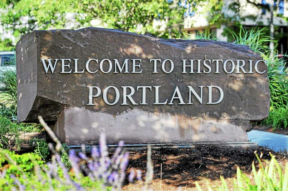 Portland welcome sign Photo: File Photo  / TheMiddletownPress