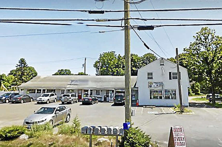 Jet Laundrette at 755 Boston Post Road in Westbrook was the site of a fire on Thursday afternoon. Photo: Google Earth