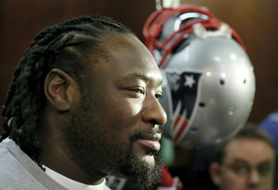 New England Patriots running back LeGarrette Blount. Photo: The Associated Press File Photo  / Copyright 2016 The Associated Press. All rights reserved.