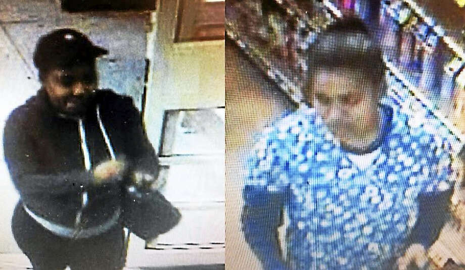 Police are looking for these two women who allegedly stole more than $1,300 worth of razors and over-the-counter medications Oct. 13 from Stop & Shop in Clinton. Photo: Courtesy Of Clinton Police Department