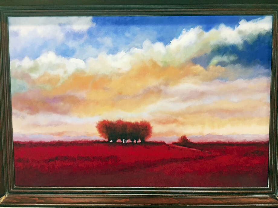 Contributed photoTuscan Sunset, a painting by L. Lamonte. Photo: Journal Register Co.
