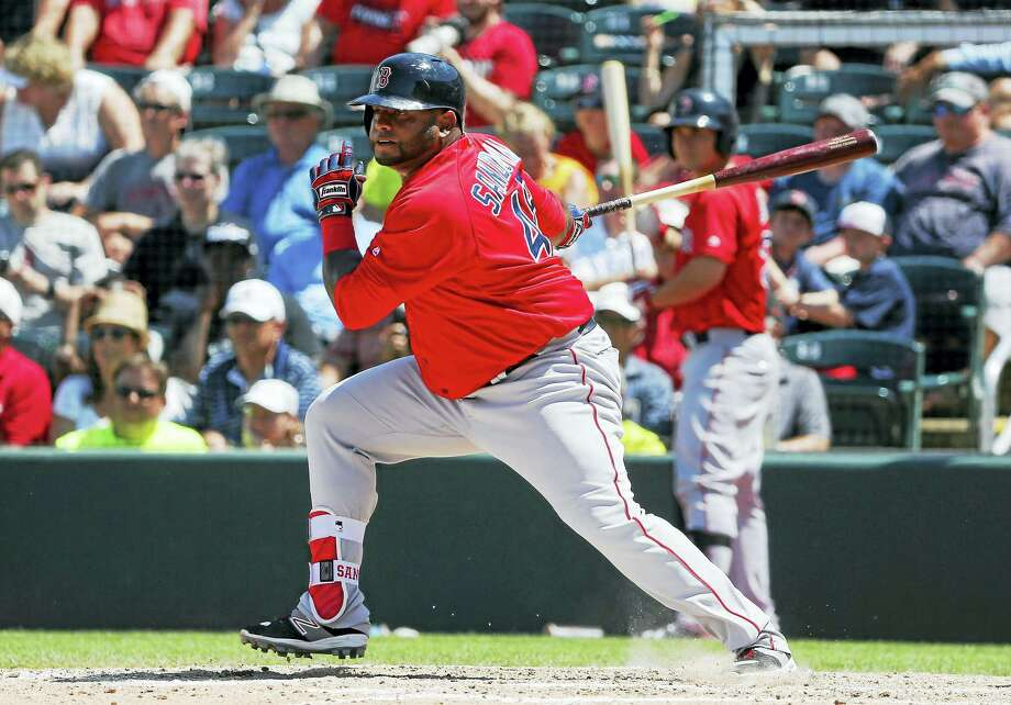 Pablo Sandoval was placed on the disabled list on Wednesday. Photo: Tony Gutierrez — The Associated Press  / Copyright 2016 The Associated Press. All rights reserved. This material may not be published, broadcast, rewritten or redistribu