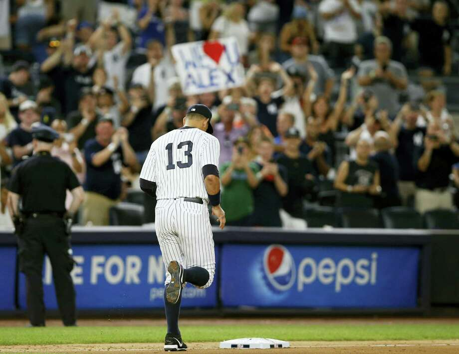 A spokesman for Alex Rodriguez said on Monday that the former Yankees slugger won't play again this season for another team. Photo: The Associated Press File Photo  / Copyright 2016 The Associated Press. All rights reserved. This material may not be published, broadcast, rewritten or redistribu