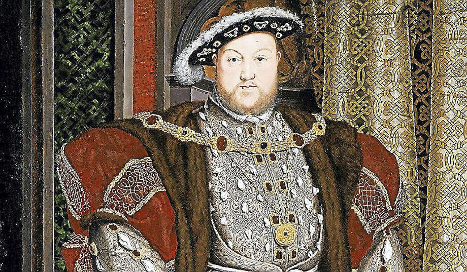 Portrait of Henry VIII by the workshop of Hans Holbein the Younger Photo: Google Art Project Via Connecticut Magazine