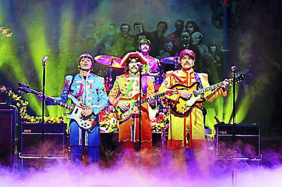 "Photo by Paul ColtasThe colorful tribute show, ""Let It Be"" is being performed at the Palace Theater in Waterbury this weekend. Photo: Journal Register Co."