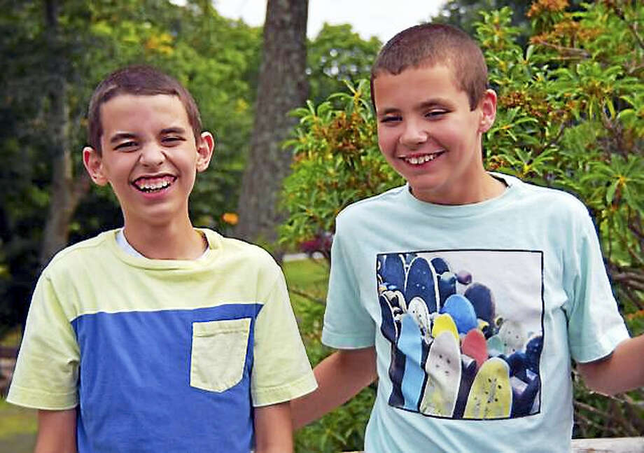 Twins Jake and Ryan, 12, who have autism, live together in a setting where they have consistency and routine. The boys would benefit from a loving family that offers the structure, support and nurturing they need to develop to their maximum potential, according to DCF. Photo: Courtesy Connecticut Foster Adopt/CT DCF