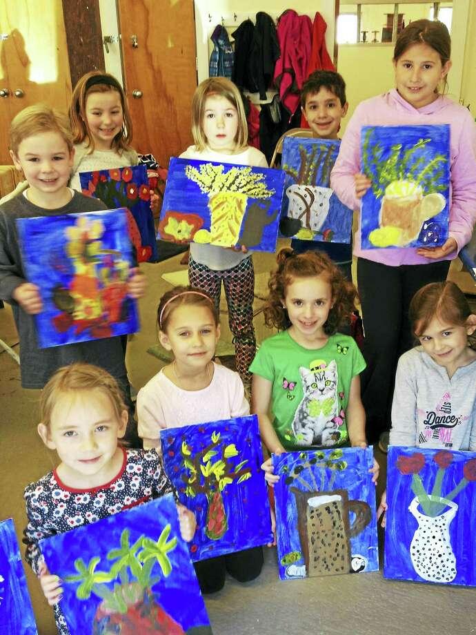 Clinton summer arts program children Photo: Journal Register Co.