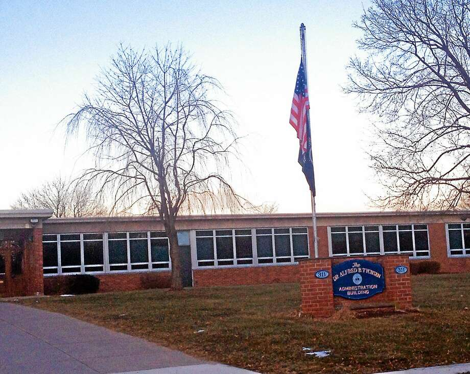The Middletown Board of Education offices on Hunting Hill Avenue. Photo: File Photo