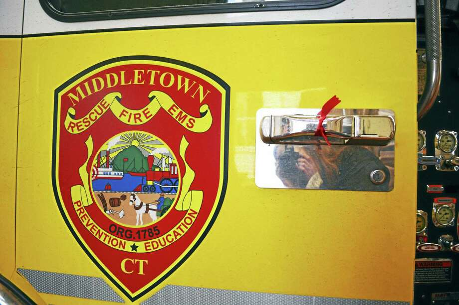 Cassandra Day - The Middletown Press Middletown fire department Photo: Journal Register Co.