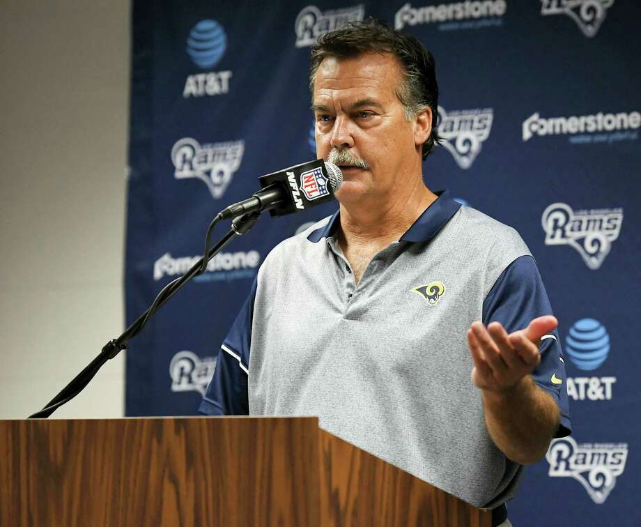 The Los Angeles Rams fired head coach Jeff Fisher on Monday. Photo: The Associated Press File Photo  / Copyright 2016 The Associated Press. All rights reserved.