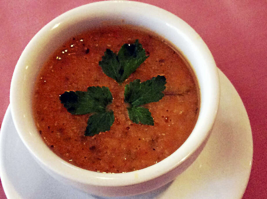 The most popular recipe request, the Turkish Kebab House's red lentil soup. Photo: Stephen Fries — Special To The Register