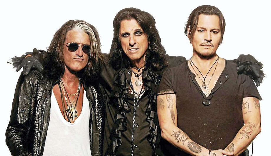 Contributed photo - Hollywood VampiresA super group comprised of rock royalty and a Hollywood superstar:Joe Perry of Aerosmith, Alice Cooper and Johnny Depp, a.k.a. The Hollywood Vampires, is set to perform at Foxwoods Resort Casino on Saturday, July 2. Photo: Journal Register Co.