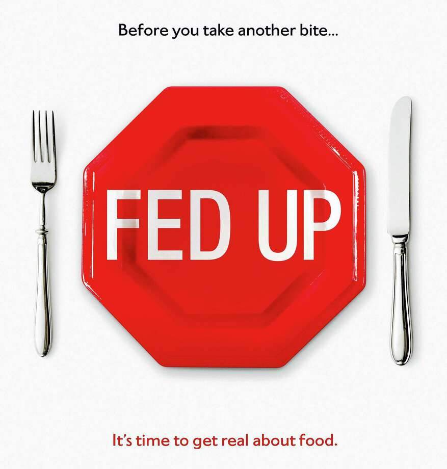 "A movie poster for the film ""Fed Up."" Photo: Journal Register Co."