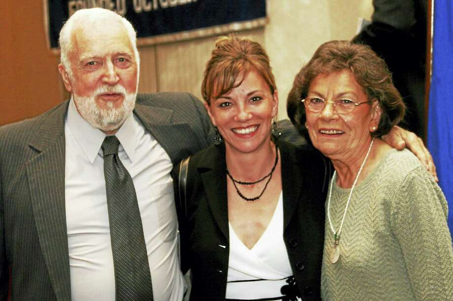 This week, the Middlesex Chamber notes the passing of Joan Wood, a chamber employee of 23 years and the mother of chamber Vice President Johanna Bond. From left, at the chamber's annual dinner in 2006, appears Joan's husband Stuart Wood, Bond and Joan Wood. Photo: De Kine Photo LLC
