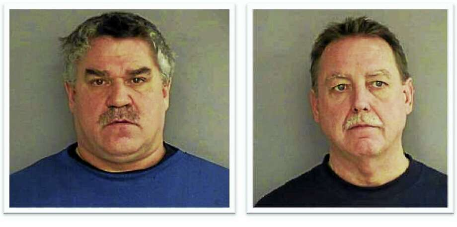 James S. Moore, left, and Rocky Nuckols ¬ Photo: Courtesy Middletown Police
