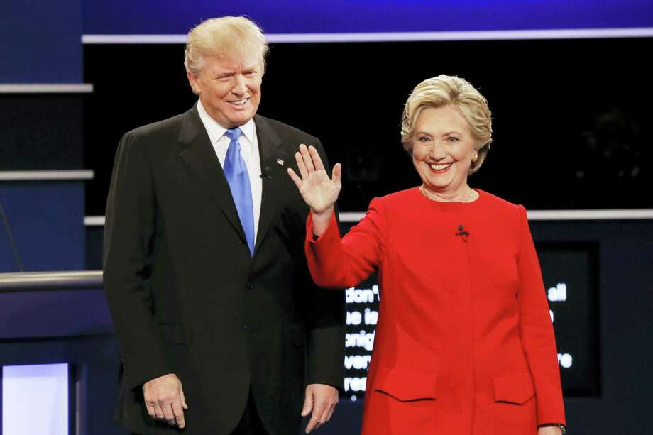 Republican presidential nominee Donald Trump and Democratic presidential nominee Hillary Clinton Photo: AP Photo — David Goldman  / Copyright 2016 The Associated Press. All rights reserved.