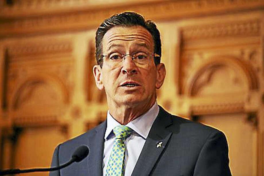 Gov. Dannel P. Malloy Photo: Christine Stuart - CT News Junkie
