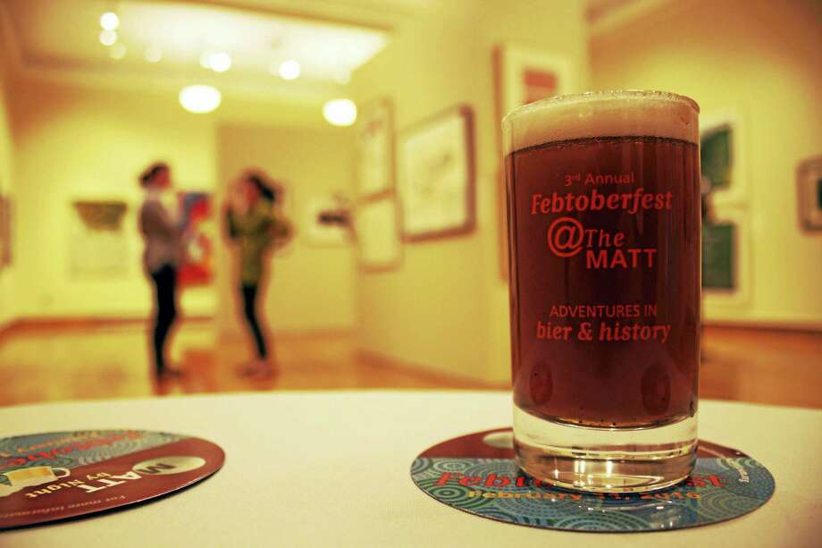 Contributed photoThe Mattatuck Museum's Febtoberfest on Feb. 11 will feature beer tastings, food and a chance to see the museum's history exhibit. Photo: Journal Register Co.