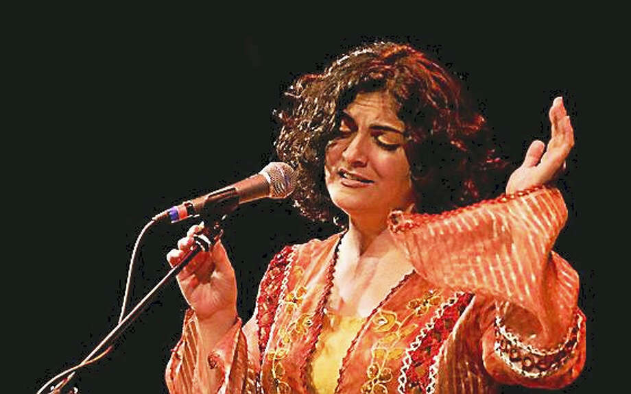 Contributed photoWesleyan University's Center for the Arts presents the Connecticut debut of Syrian vocalist and songwriter Gaida on Friday, Feb. 5. Photo: Journal Register Co.