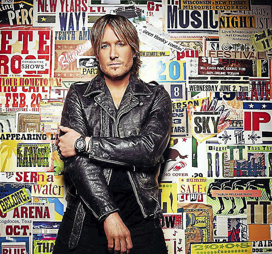 Contributed photoMusician Keith Urban is set to perform at  Mohegan Sun Arena in Uncasville Nov. 18. Photo: Digital First Media